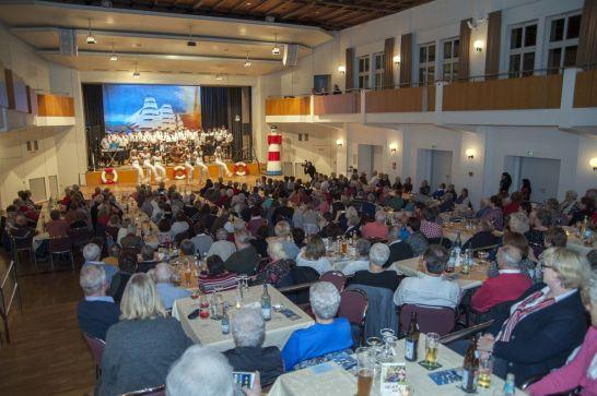 Marinechor Aulendorf Auftritt in Bad Waldsee 24. Nov. 2018